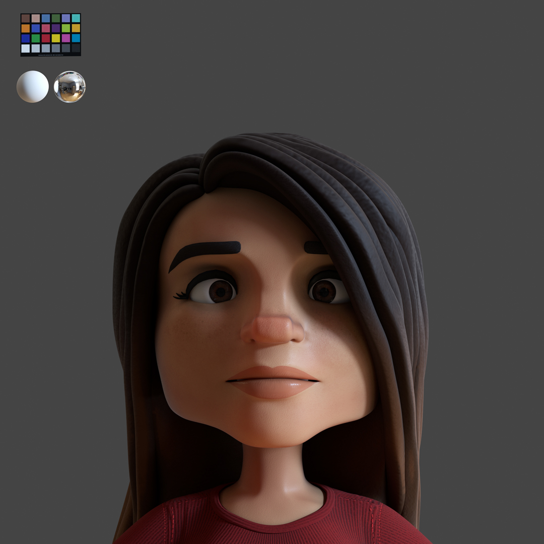 Senora Head Sculpt