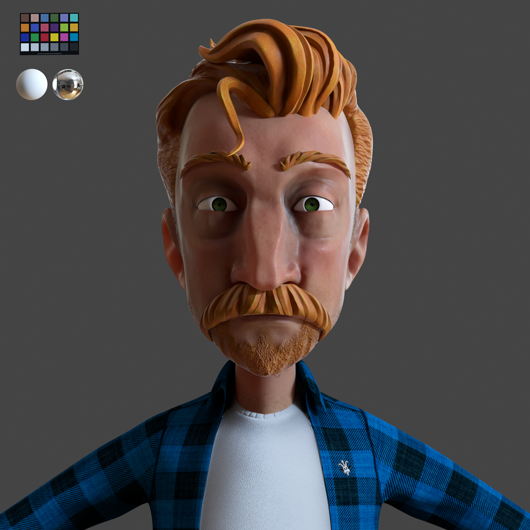 Tyler Head Sculpt
